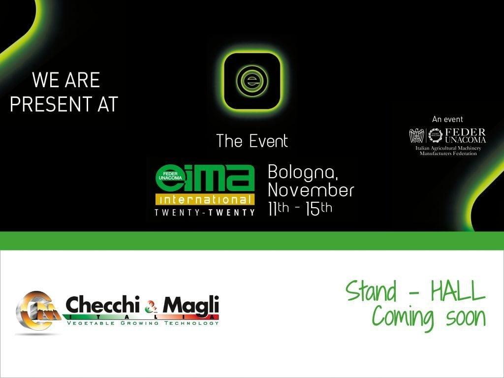 Evento EIMA 2020 | Checchiemagli.com